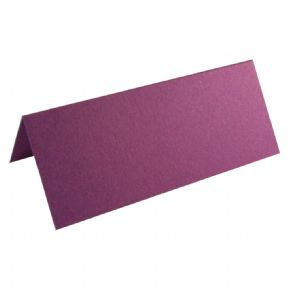 100 X Purple Place Cards For Weddings & Parties
